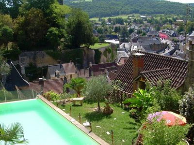 Photo for House of character between Sarlat and Lascaux - infinity pool