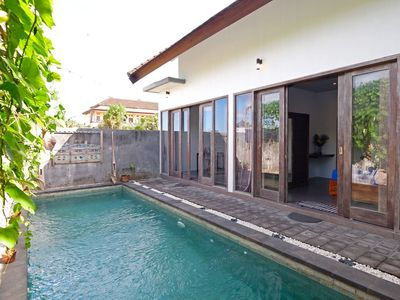 Photo for 2BR Villa Prvte Pool, Garden near Canggu, Seminyak