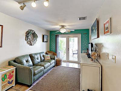 Living Room - Welcome to Key West! This villa is professionally managed by TurnKey Vacation Rentals.