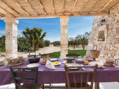 Photo for Characteristic dwelling for 6/Puglia