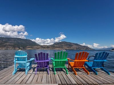 Photo for Lake Front Downtown Kelowna Home W/Dock