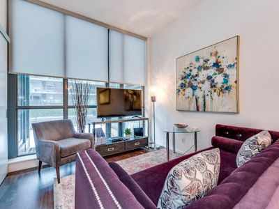 Photo for Newly Decorated 1BR Executive Suite in King West