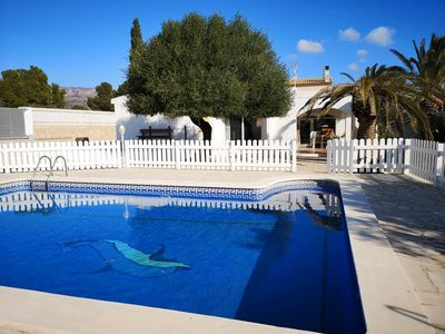 Photo for Beautiful villa with private pool 800m from the sea.