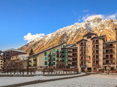 Photo for Rodeo Chamonix Studio modern 2-4 persons next to Aguille du Midi telecabine