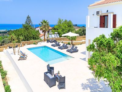 Photo for Cretan Dream Villa with Private Swimming Pool