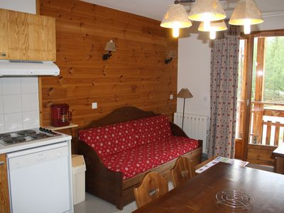 Photo for Apartment Pays des Ecrins, ideal FAMILY for the followers of SKI or RANDO