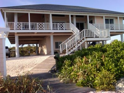 Photo for Great Harbour Cay, Berry Islands, Bahamas 4/3 Luxurious Beachfront Relaxing Home