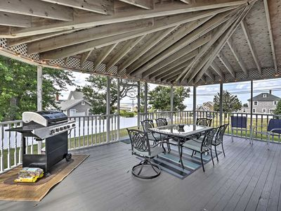 Photo for Fantastic Plymouth House w/Huge Deck & Ocean Views