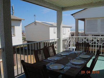 Photo for Sea view chalet, ideal for family holidays.