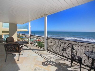 The Ultimate in California Beach Living!  View facing south from Balcony.