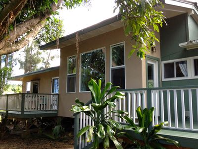 Photo for Haiku Anuenue - Ocean View Private 2 bed/2 bath Cottage Permit BBPH 2013/0002