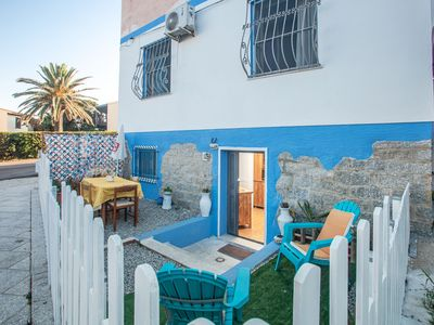 Photo for Holiday Apartment Close to the Beach in Colourful Design with Wi-Fi & Terrace