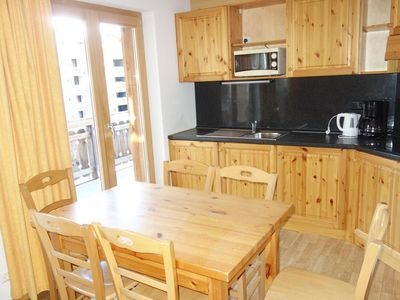 Photo for 3-room apartment 6 people 49m²Open kitchen (fridge, oven/microwave, dishwasher, coffee machine) - Di