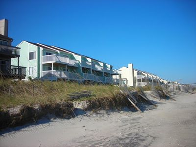 Photo for Ocean Front Condo at Kure Beach, NC, 2br, 2ba - book now for 2018