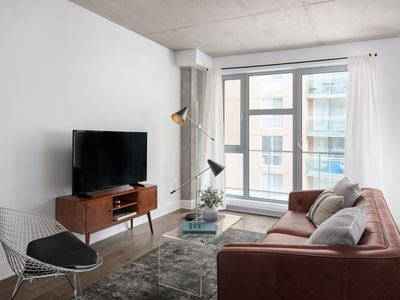 Photo for Airy 1BR in Quartier des Spectacles by Sonder
