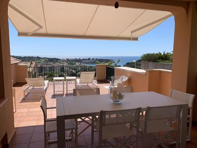 Photo for Superb villa overlooking the bay of San pol