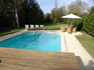 Photo for Luxury 17th Century Farmhouse Holiday Rental on the Banks of River Dordogne
