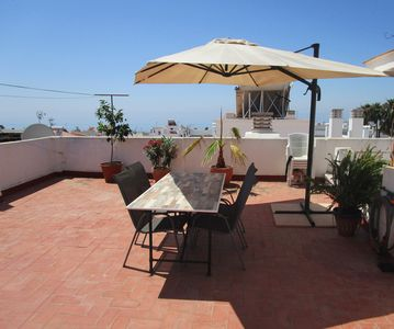Photo for Cozy apartment in the historic center of Nerja - close to the beach ** New **