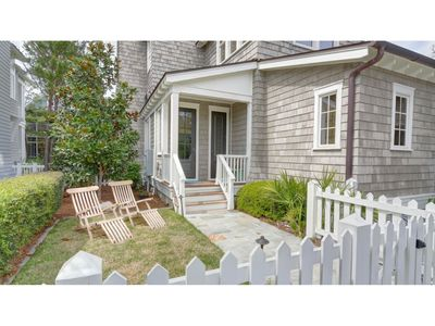 New England coastal chic is the feeling you get walking into this designer owned home