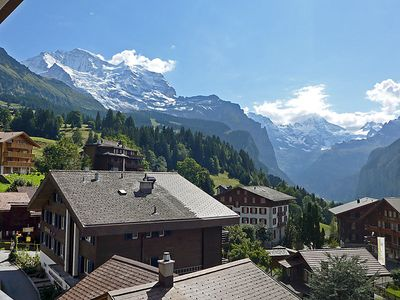 Photo for Apartment Bella Vista in Wengen - 6 persons, 3 bedrooms