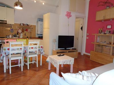 Photo for In the center of Isolabona with Internet, Washing machine (738653)