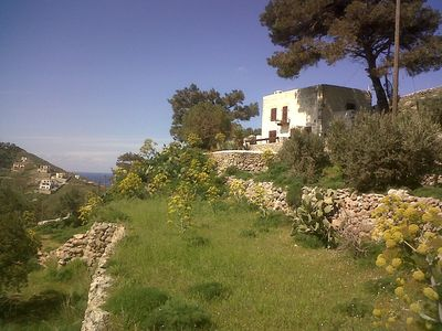 Photo for Kalymnos: Charming house on an authentic island, panoramic sea