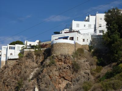 Photo for CHARACTER HOUSE IN MOJACAR PUEBLO WITH MAGNIFICENT VIEWS ON VALLEY AND SEA