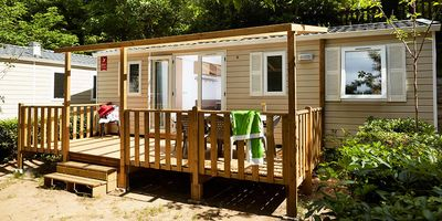Photo for Camping Maïana Resort **** - Mobile home air conditioned 4 rooms 6/8 people