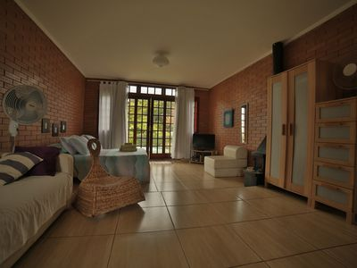 Photo for Large loft with full kitchen, individual barbecue and close to the sea