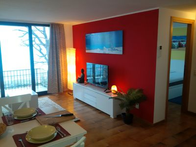 Photo for Renovated 2-room.-Apartment with pool, fantastic panoramic views