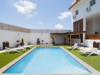 Photo for CASA MERCEDES II, WITH POOL AND LARGE BARBECUE AREA !!