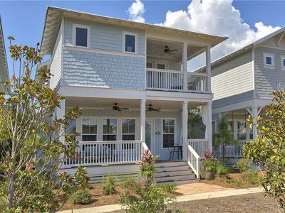 Photo for R Beach House - New in Seagrove, Community Pool, Beach Shuttle, Close to Seaside