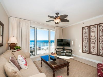 Photo for Beautiful Updated Condo with Gulf Views!  Free Golf & Parasailing!