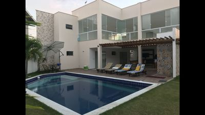 Photo for Excellent House in Guarajuba complete; Spacious / Free Wi-Fi / 100% Safe / Comfort +
