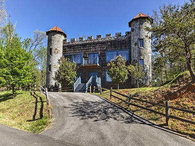 Photo for Sevierville Castle w/ Private Hot Tub & Mtn Views!