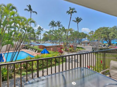 Photo for Maui Parkshore #204, 2Bd/2Ba, Partial Ocean View, Near Beach, Wifi, Sleeps 6