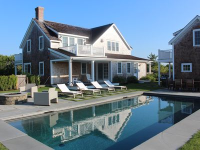 Photo for New Home On Large, Private Lot W/heated Salt Water Pool And Distant Harbor Views