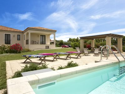 Photo for In Alghero, wonderful villa for 8/10 people close to the most beautiful beaches