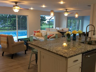 Photo for Stunning Newly Remodeled Solar Heated Pool Home In Sandpiper Bay Near Club Med