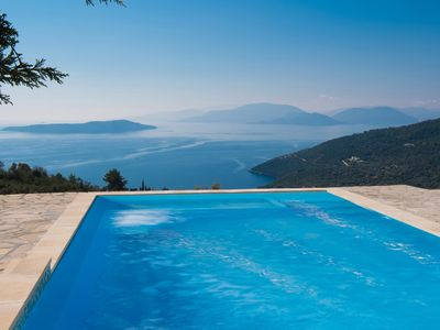 Photo for Villa Dias (Ionian View Villas)For absolute repose and relaxation ,Private pool