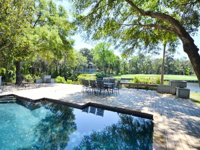Photo for Beautifully Redone 5 BR / 4 BA Vanderhorst Home w/ PRIVATE POOL & LAGOON VIEW