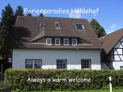 Photo for Ferienparadies Heidehof - Pur Natur, Price incl. bed linen