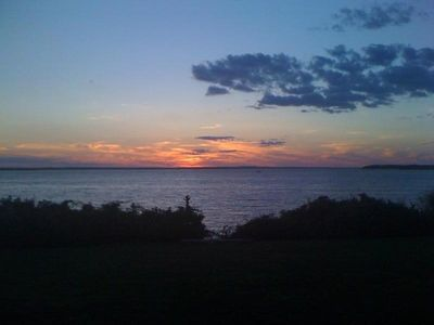 Photo for Waterfront - secluded beach, large yard &  magnificient views -swim, fish, boat