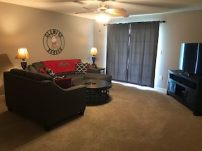 Photo for Cozy 2 Bdrm Condo 1 mile S of Ole Miss on Old Taylor