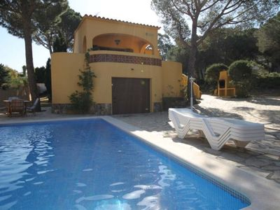 Photo for Villa with private swimming pool in Puig Sec
