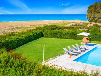 Photo for Villa Dimitris Blue Bay - Stunning sea views, a private pool & has WI-FI
