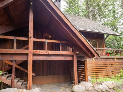 Photo for New Listing  historic chalet in Government Camp, WiFi, Great hiking trails !