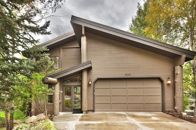 Ample free parking in the driveway or in the two-car garage.