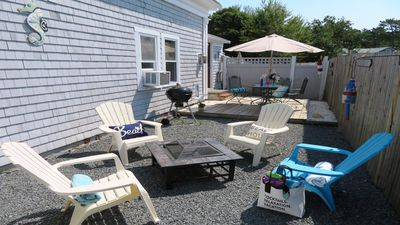 Photo for Walk to Beach & Restaurants-A/C - WiFi- Updated home- Welcome to Seabattical