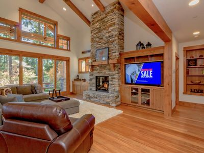 Photo for Stunning Retreat on the Course! * Mountain Dream Home w/Hot Tub & Pool Access